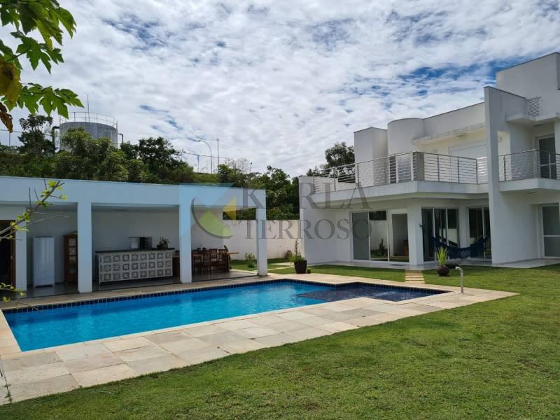 Casa venda 4 suítes piscina churrasqueira Condomínio Santa Monica Jardim Botanico DF