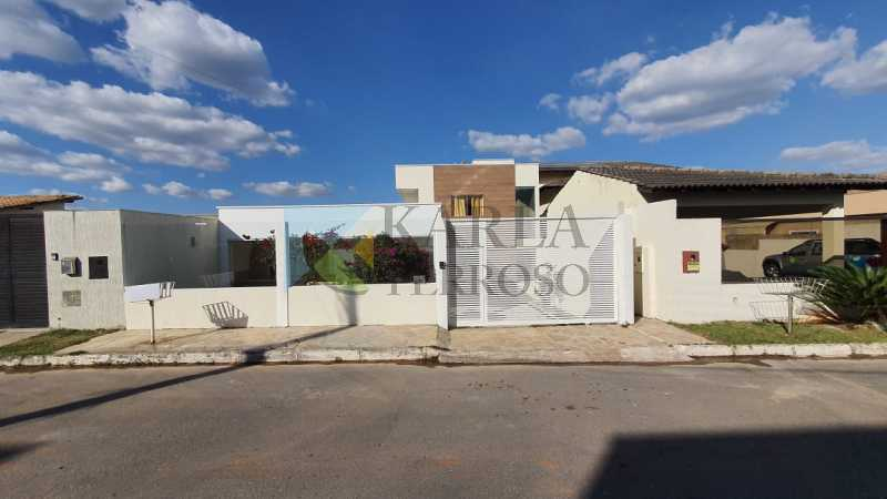 Casa venda 4 quartos 2 suites piscina churrasqueira Condomínio Quintas do Sol Quadra 9 Jardim Botanico