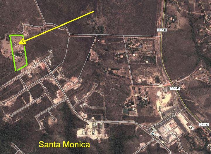 Área a venda de 24.860 m2 DF 140 Tororó