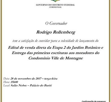 Terracap lança edital de venda do Estancia Jardim Botânico 2