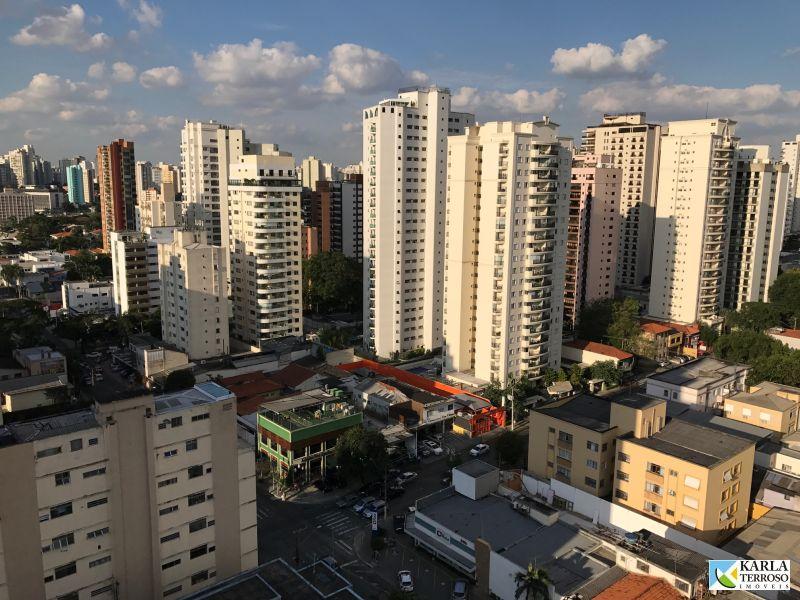 Apartamento a venda 2 suítes 1 vaga garagem, Moema Índios São Paulo SP
