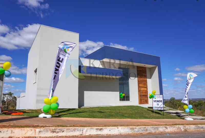 Casa a venda 3 suites 2 garagens Condomínio Reserva Santa Monica DF 140 Brasília Jardim Botânico