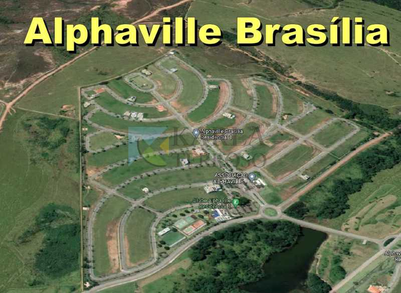 Lote a venda 556 m² Condomínio Alphaville 1 Brasília DF