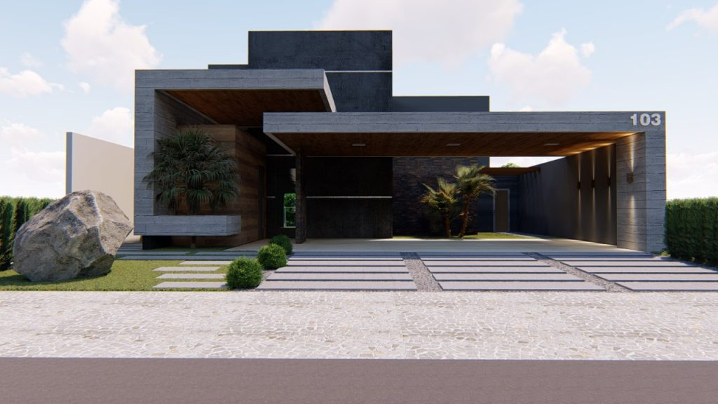 Casa a venda 4 quartos 3 vagas garagens Maxximo Garden Jardim Botanico