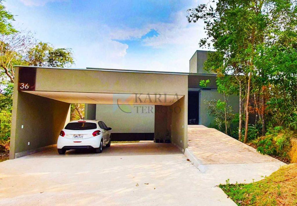 Aluguel de casa 2 suítes 2 garagens Reserva Santa Monica Jardim Botânico DF 140